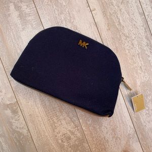Michael Kors Large Travel Pouch in Navy Blue